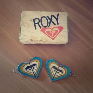 Vintage Rocky Quicksilver Hair Clips